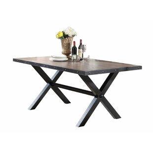 Carly Dining Table by Loon Peak 2019 Sale
