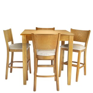 Hartline 5 Piece Pub Table Set