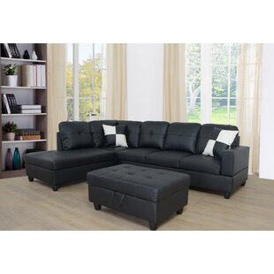 Borowski Sectional with Ottoman