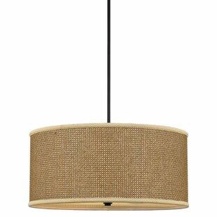 Comparison Crane 4-Light UpLight Drum Chandelier By Beachcrest Home