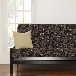 Compare prices Floral Full Box Cushion Futon Slipcover by Brayden Studio Reviews (2019) & Buyer's Guide