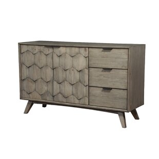 Bahena 3 Drawer Combo Dresser by Wrought Studio Great Reviews