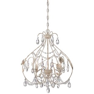 Ophelia & Co. Aldan 3-Light Foyer Pendant