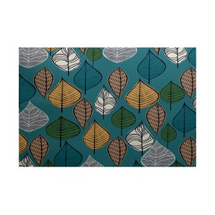 Avalos Teal Indoor/Outdoor Area Rug