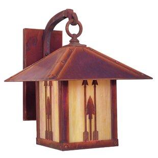 Timber Ridge 1-Light Outdoor Wall Lantern..