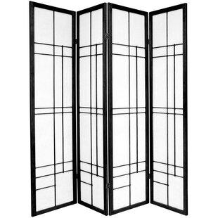 Clara Shoji 4 Panel Room Divider
