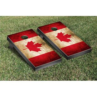 Victory Tailgate Country Flag Cornhole Game Set