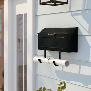 Winter Shopping Special Bali Horizontal Wall Mounted Mailbox