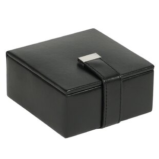 Check Prices Heritage 4 Piece Cufflink Box ByWildon Home ®