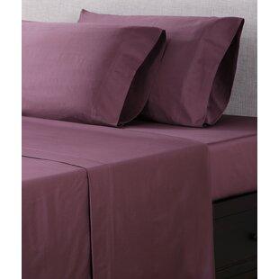 Affluence Home Fashions 300 Thread Count Cotton Sateen Sheet Set