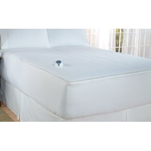 Soft Heat Polyester Heated Mattress Pad