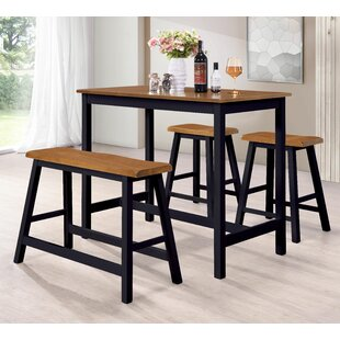 Lomonaco 4 Piece Pub Table Set..