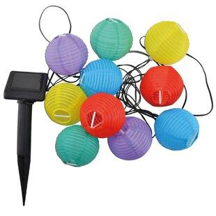 380cm LED Lantern String Light By Symple Stuff