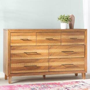 Bungalow Rose Lavada 7 Drawer Dresser