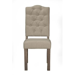 Origins by Alpine Fiji Tufted Upholstered Side Chair (Set of 2)