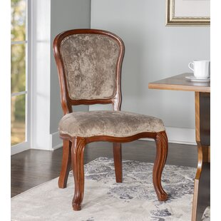 DeMontfort Upholstered Dining Chair Set of Two (Set of 2)