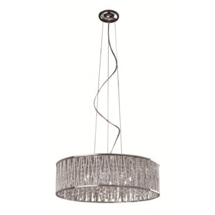 Trixie 8-Light Crystal Chandelier by House of Hampton