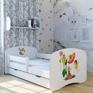 Flower Fairy Convertible Toddler Bed With Drawer By Zoomie Kids