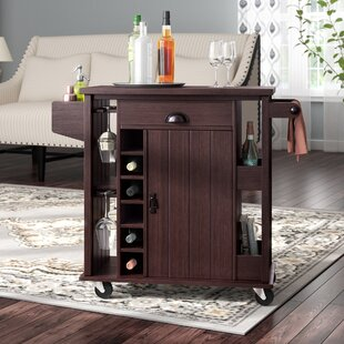 Pawnee 6 Bottle with Wine Storage by Darby Home Co