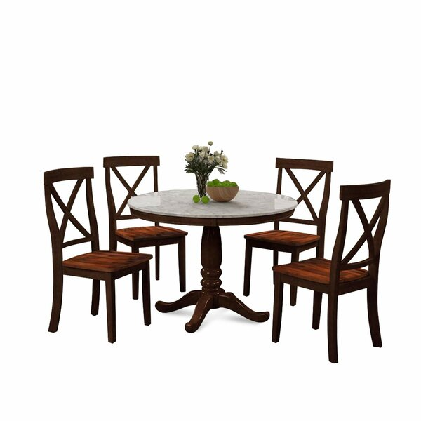 Longshore Tides Saltzman 5 Piece Dining Set Wayfair