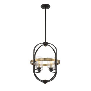 17 Stories Esme 4-Light Foyer Pendant