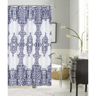 Reviews Maleah Linen Look Shower Curtain By Bungalow Rose