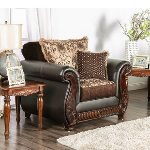 Astoria Grand Simms Wood Armchair