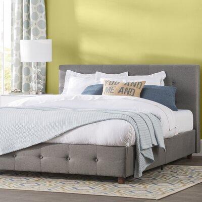 Amherst Upholstered Platform Bed Color: Dark Gray, Size: King by Andover Mills