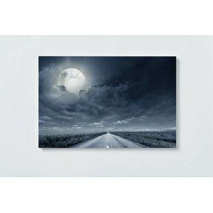 Moon Motif Magnetic Wall Mounted Cork Board By Ebern Designs