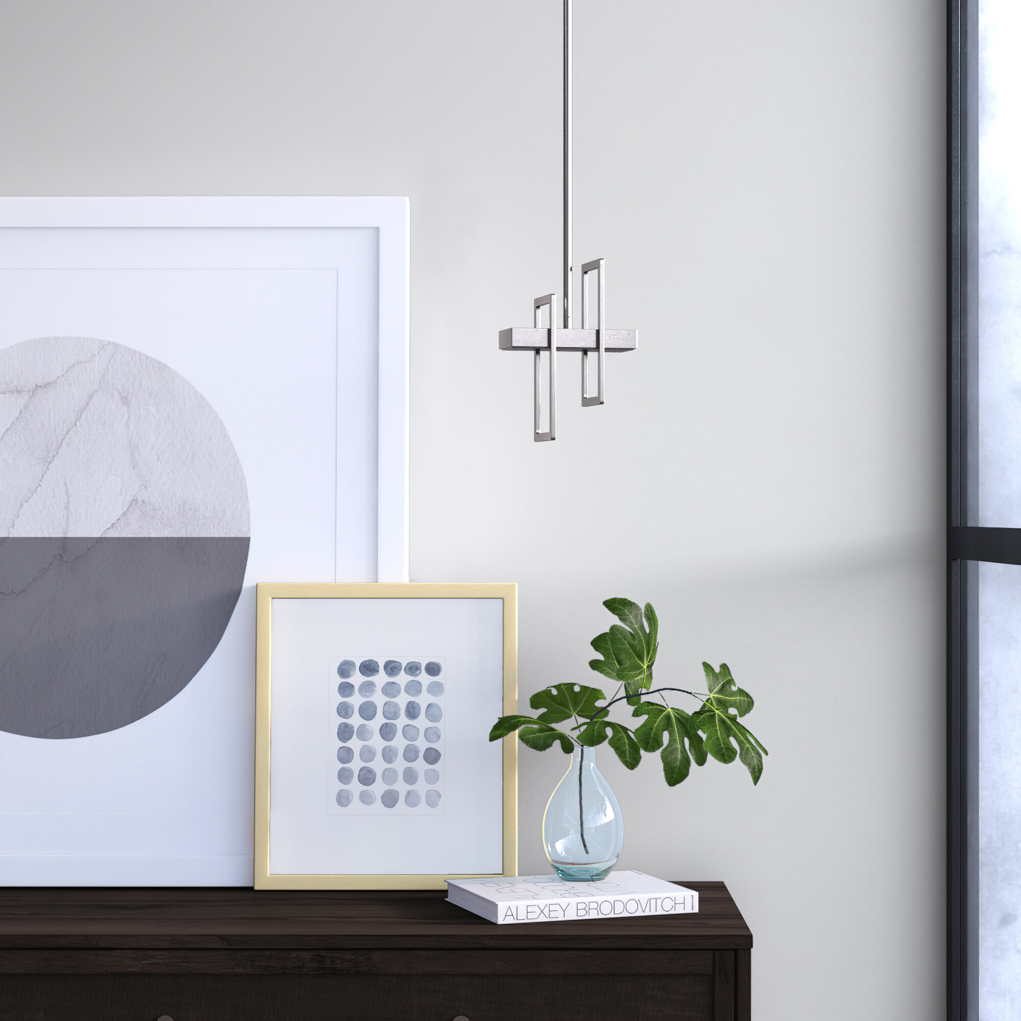 Kaitlynn 1 Light Single Geometric Pendant Reviews Allmodern