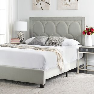 Clausen Upholstered Platform Bed by House of Hampton Best