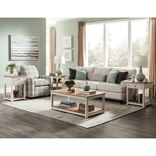 Rosecliff Heights Gilmore 4 Piece Coffee Table Set
