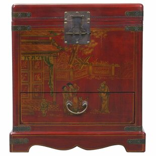 Handmade Oriental Antique End Table by EXP D?cor