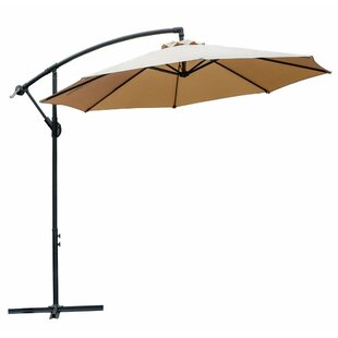 Lutie 10' Patio Cantilever Umbrella by Freeport Park