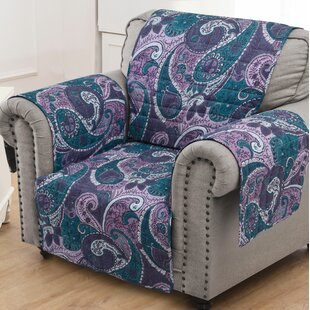 Paisley Box Cushion Slipcover