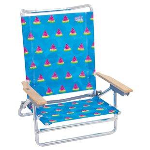 Classic Reclining/Folding Beach Chair by Rio Brands