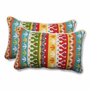 Reese Outdoor Lumbar Pillow (Set of 2)