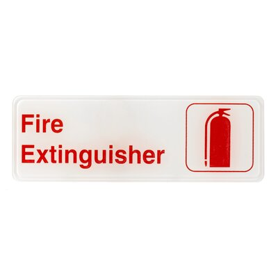Fire Extinguisher Sign Alpine Industries
