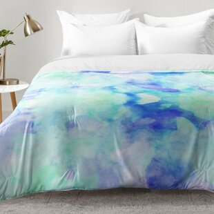 East Urban Home Water Clouds Comforter Set