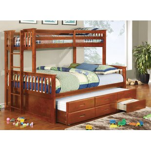 Reviews Sandra Bunk Bed with Trundle ByViv + Rae