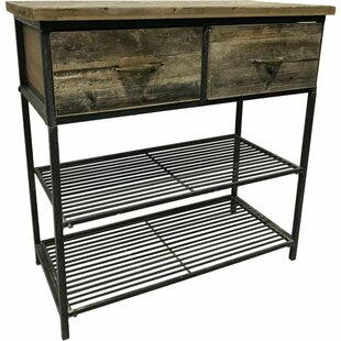 Goulart Wooden Kitchen Island Williston Forge
