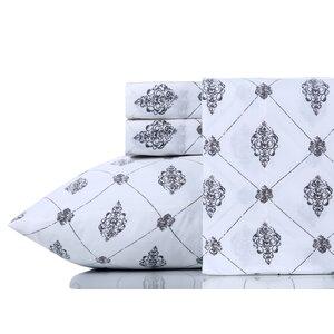 Breesha Pure 200 Thread Count 100 Cotton Sheet Set