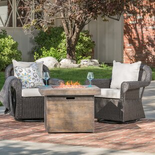 Gracie Oaks Claysville Patio Chair with C..