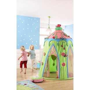 Rose Fairy Pop-Up Play Tent with Carrying Bag By Haba