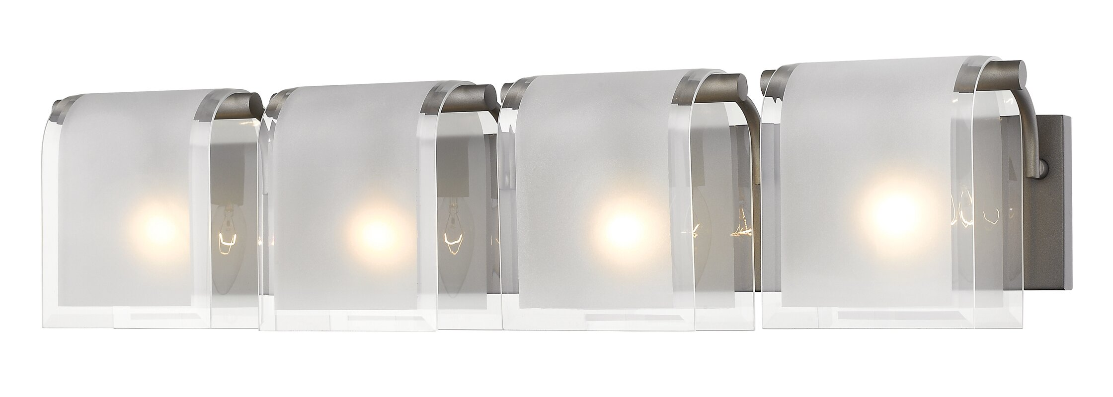 Orren ellis kadlec 4 light bath bar reviews wayfair kadlec 4 light bath bar aloadofball Images