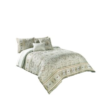 Valencia 7 Piece Reversible Comforter Set