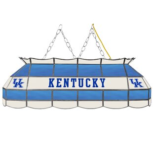 University of Kentucky 3-Light Pool Table Light by Trademark Global