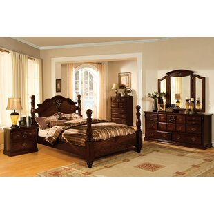 Ricciardi Four Poster Panel Configurable Bedroom Set