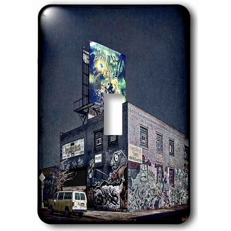 3drose Graffiti Brakes Store Grunge Street 1 Gang Toggle Light Switch Wall Plate Wayfair