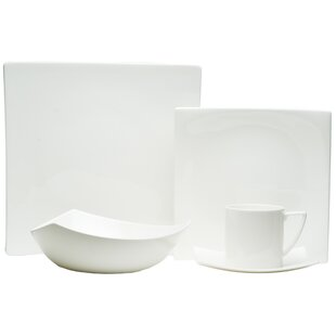 Extreme White 20 Piece Dinnerware Set, Service for 4